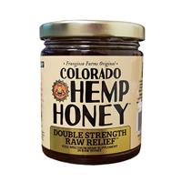 DOUBLE Strength Raw Relief Honey