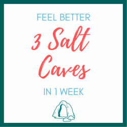 Feel better! 3 Salt Cave sessions in 1 week