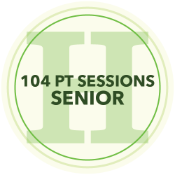 96 Personal Training Sessions (Senior)