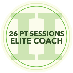 24 Personal Training Sessions (Elite Coach)