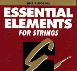 Essential Elements Viola Book 1