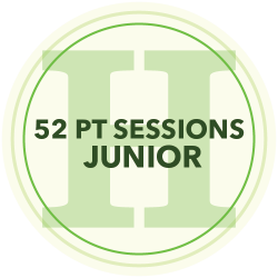 48 Personal Training Sessions (Junior)