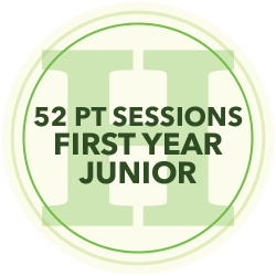 48 Personal Training Sessions (First Year Junior)