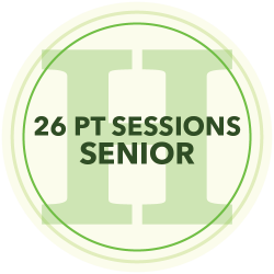24 Personal Training Sessions (Senior)