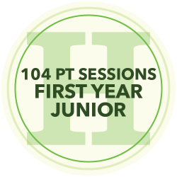 96 Personal Training Sessions (First Year Junior)