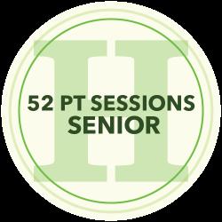 48 Personal Training Sessions (Senior)