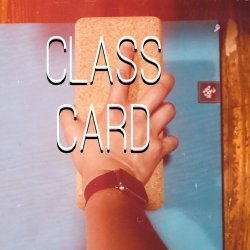 15 Class Card
