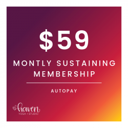 Monthly Sustaining Membership (Autopay)
