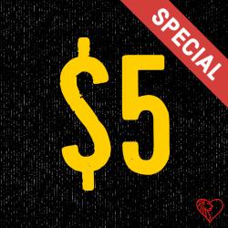 $5 First-Timer
