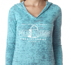 Polar Lounge, Oh So Soft Burnout, Light weight - Hoodie