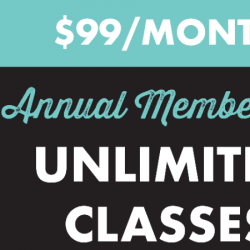 PROMO $99 Monthly Autopay (unlimited classes)