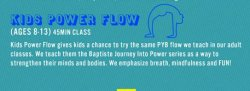 PYB Kids Flow Series