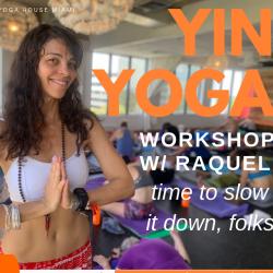 Sept 2019 Yin Yoga Workshop Future Member Price