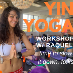 Sept 2019 Yin Yoga Workshop Member Price