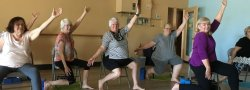 Yoga for Seniors  and Chair Yoga Teacher Training (Continuing Education) 10-hour workshop February 23 & 24, 2019 in Tempe.