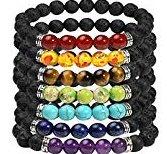 054 - Lava stone bracelet
