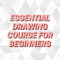 12 Classes - The Essential Drawing Course for Beginners