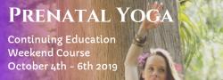 Prenatal Yoga Continuing Education Weekend Course