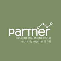Partner Membership: Monthly ($15/mo)