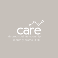 Care Membership: Promotional Monthly ($10/mo)