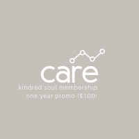 Care Membership: Promotional One Year ($100/yr)
