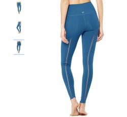 Alo yoga High Waist Dash Legging, Legion Blue (size small) original price $104