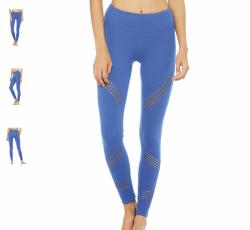 Alo Yoga Multi Legging, Cobolt (USED) size small, original price $120