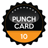10 Session Punchcard