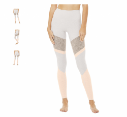 Alo yoga high waist Alosoft Sheila Legging, Lavender Cloud (NEW) size XS, original price $112