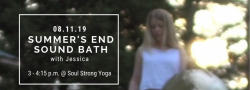 Summer's End Sound Bath with Jessica