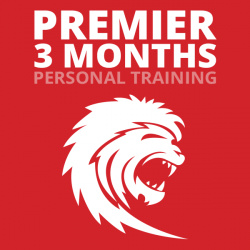 Premier 3mo. Personal Training (3x/wk-36 Sessions)