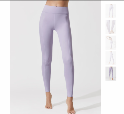 Carbon38 Padang Legging, Lavender, size small (used) original price $128