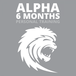Alpha Personal Training 6 mo. (1x/wk- 4 Sessions)