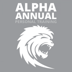 Alpha Personal Training Annual (48 Sessions)