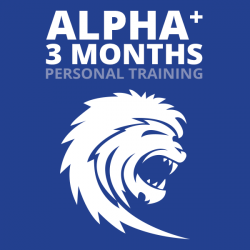 Alpha Plus  Personal Training 3 mo. (2x/wk- 24 Sessions)