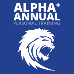 Alpha Plus Personal Training Annual (2x/wk- 96 Sessions)