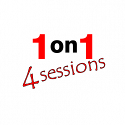 1 on 1 Personal Training - 4 Sessions