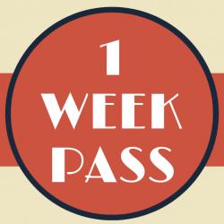 1 Week Pass