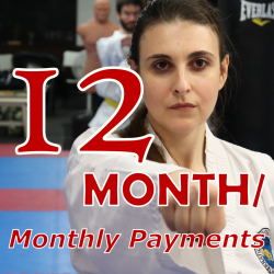 TKD Adults - 12 Month Payment Terms