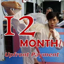 TKD Adults - 12 Month Membership