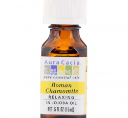 Aura Cacia, Pure Essential Oils, Roman Chamomile, Relaxing (15 ml)