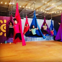 DEPOSIT for Aerial Silks Party!