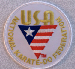 USA Karate patch (USANKF)