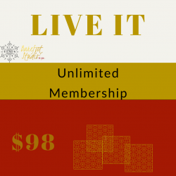 LIVE IT -  Unlimited Membership