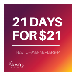 New to Haven Membership (21 Days)
