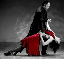 Milonga with Maestros: 1 entry & 1 seat at Second Row table (good view)