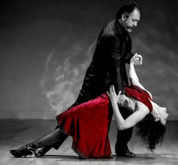 Milonga with Maestros: 1 entry & 1 seat at the back table (WHA view)