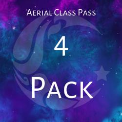4 Pack- Aerial Class Pass