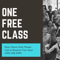 ONE FREE CLASS