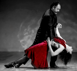 Milonga with Maestros: 2 entries and Table for 2 (good view)